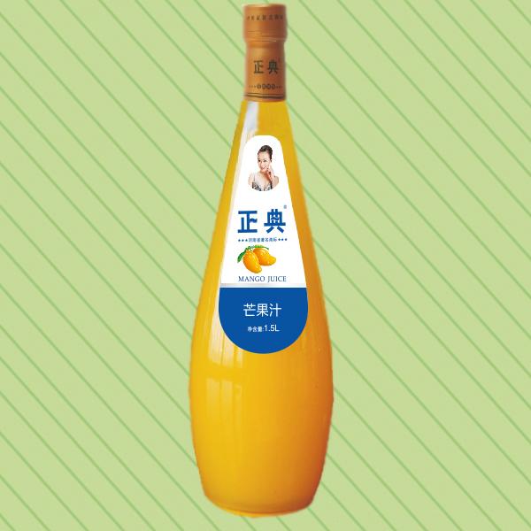 1.5L正典芒果汁小口瓶