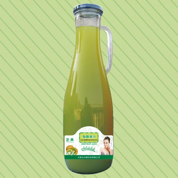 1.5L正典猕猴桃汁把手瓶