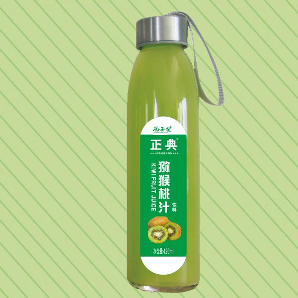 420ml正典猕猴桃汁水杯瓶