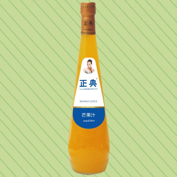 828ml正典芒果汁保龄球瓶