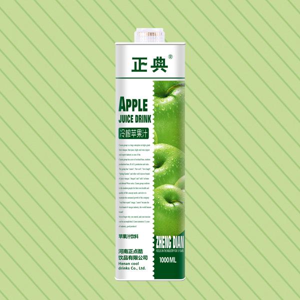 1L方盒苹果汁