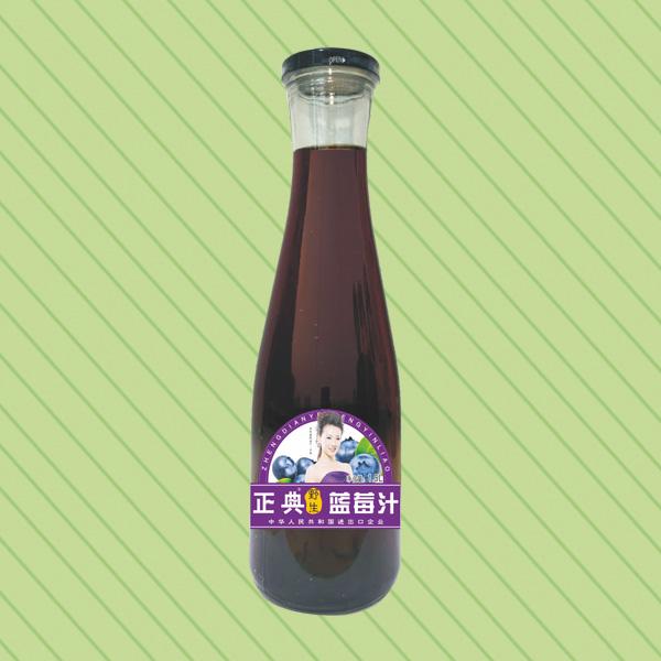 ZD-1.5L蓝莓汁(广口瓶)