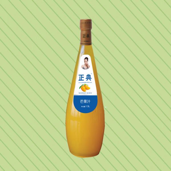 ZD-1.5L芒果汁小口瓶