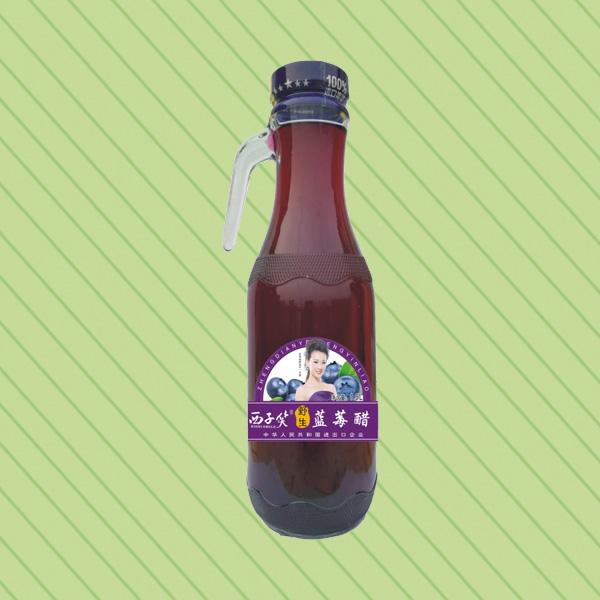 XZ-1.5L把手瓶 蓝莓醋