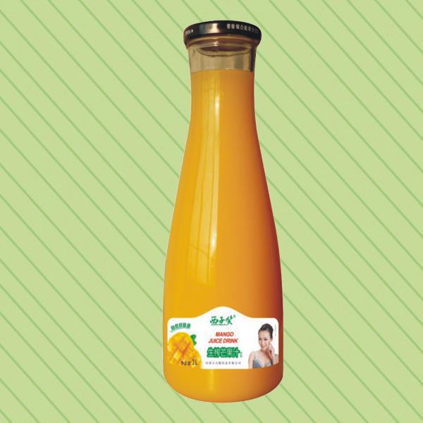 西子笑系列生榨芒果汁1L