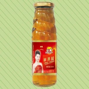 330ml正典红苹果醋螺旋瓶