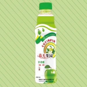 500ml春天果园苹果醋塑料瓶