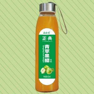420ml正典青苹果醋水杯瓶