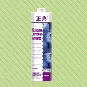 1L方盒蓝莓汁