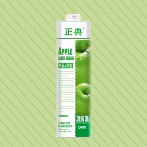 1L方盒苹果醋