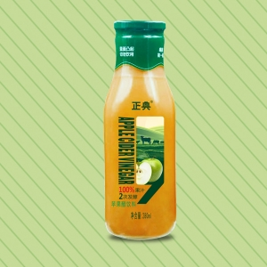 280ml苹果醋(琉璃瓶)